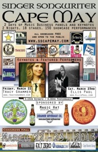 Singer/Songwriter Cape May 2013 Poster